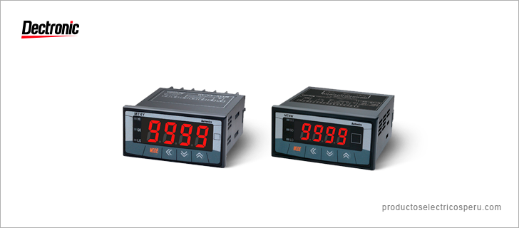 Medidor de panel Serie MT4Y MT4W - Autonics