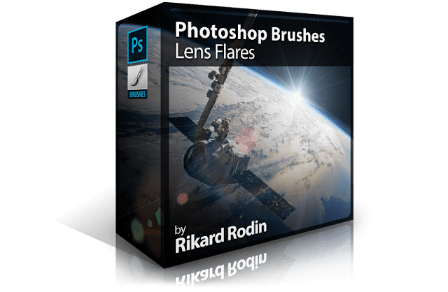 Photoshop Brushes: Lens Flares