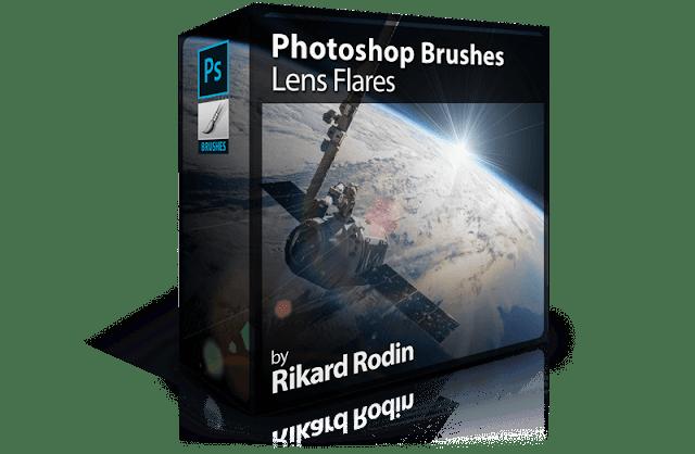 Photoshop Brushes: Lens Flares