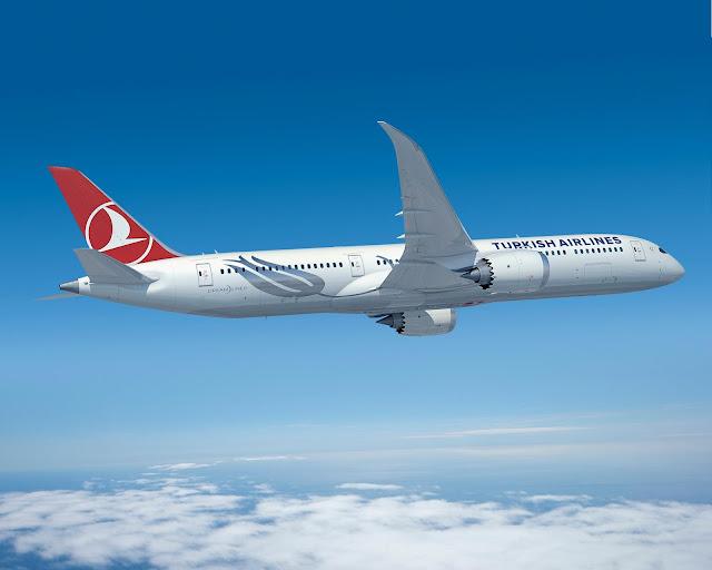 Turkish Airlines Boeing 787 Dreamliner uçakları Haziran 2019 tarihinde teslim alacak...
