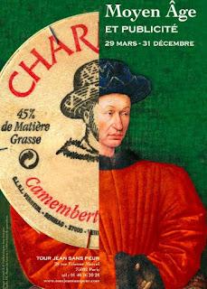 Moyen Âge et publicité à la Tour Jean-Sans-Peur