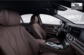Nội thất Mercedes E250 Edition 20 2015 màu Nâu Hazelnut / Nâu Espresso 814