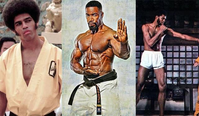 black martial artists