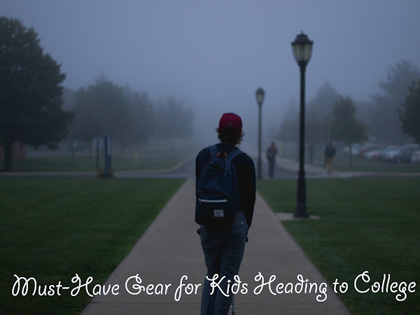 Must-Have Gear for Kids Heading to College