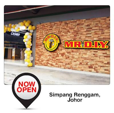 MR DIY Free Umbrella Simpang Renggam Johor