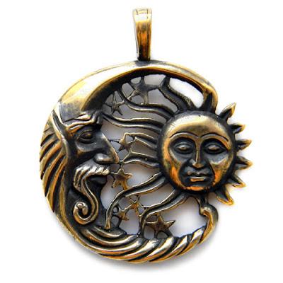 кулон солнце и луна купить подарок в симферополе поставщики украшений оптом