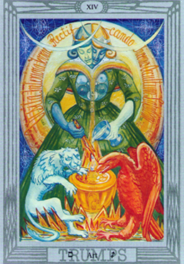 Art XIV Thoth Tarot card