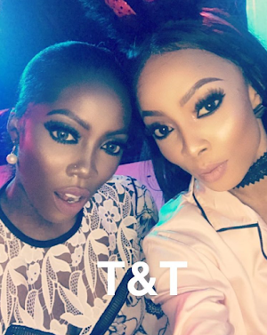 Photos from Toke Makinwa's Yesterday Slumber party wit Nigeria's celebrities- See Photos