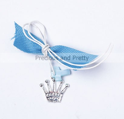 Crown themed witness pins for Greek baptism KL 38