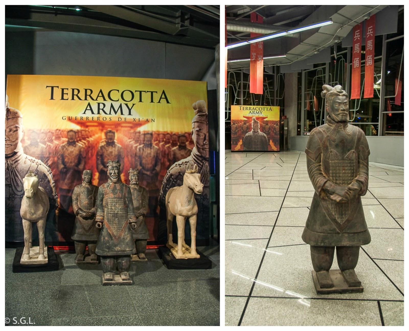 Exposicion en Bilbao de los soldados de Terracota