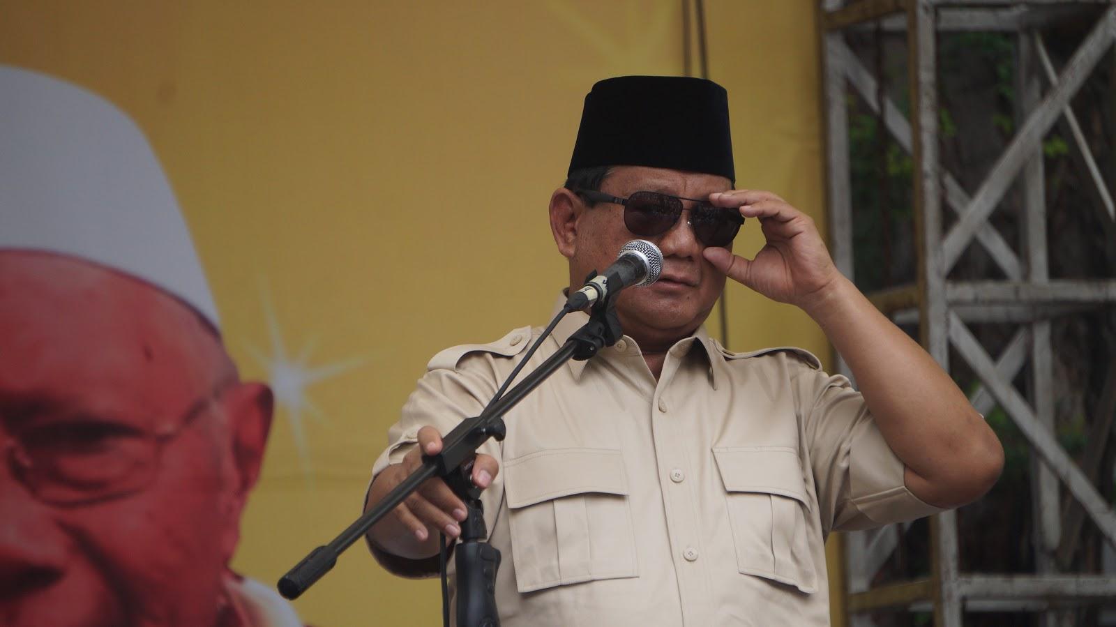 Khutbah yang Membuat Prabowo Menangis