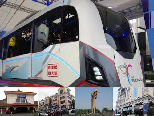 Jalur LRT Metro Kapsul Bandung