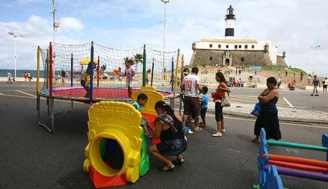 Salvador terá  fim de semana animado com músicas e brincadeiras