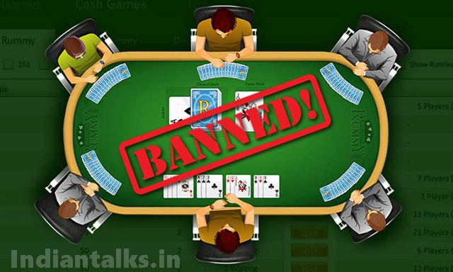 Online Rummy Circle Game Banned