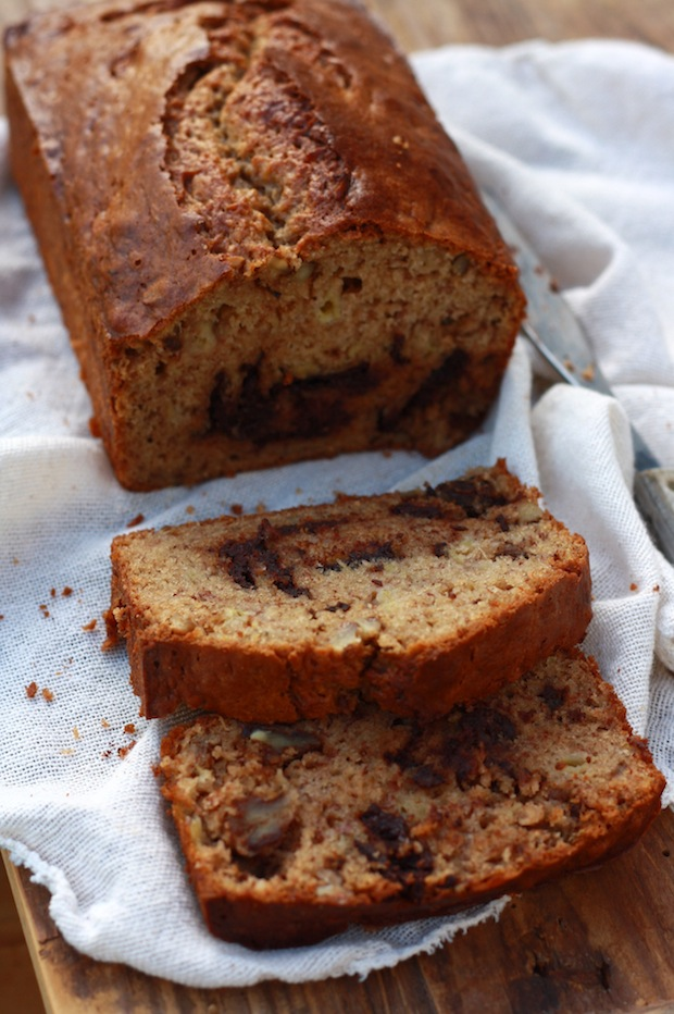 Banana Walnut Bread recipe by SeasonWithSpice.com