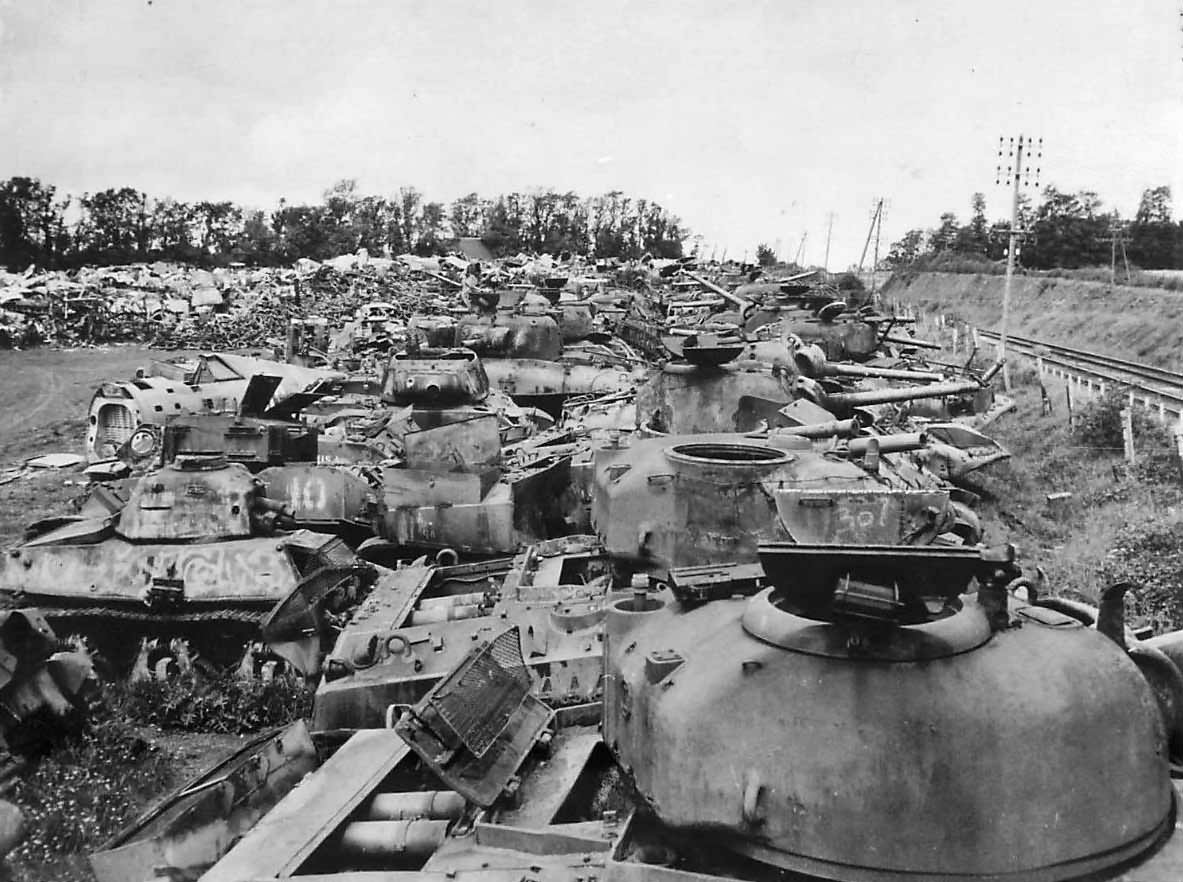 Just A Car Guy Tank Junkyards Near Normandy