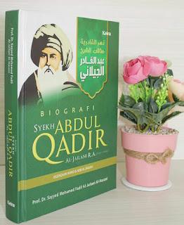 Buku Biografi Syaikh Abdul Qadir Al-Jailani - Toko Buku Aswaja Surabaya