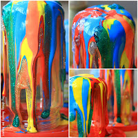 Process Art Drip Painting