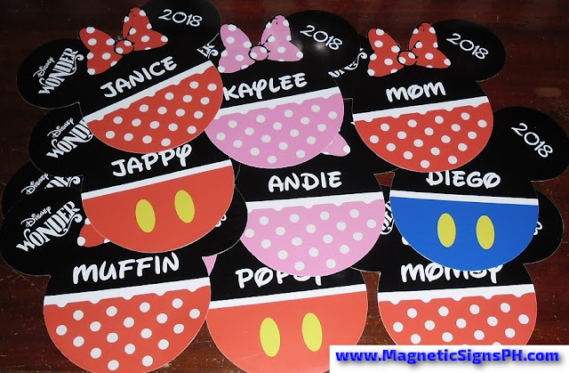 Die Cut Magnets - Mango Tours