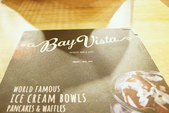 Bay Vista Menu