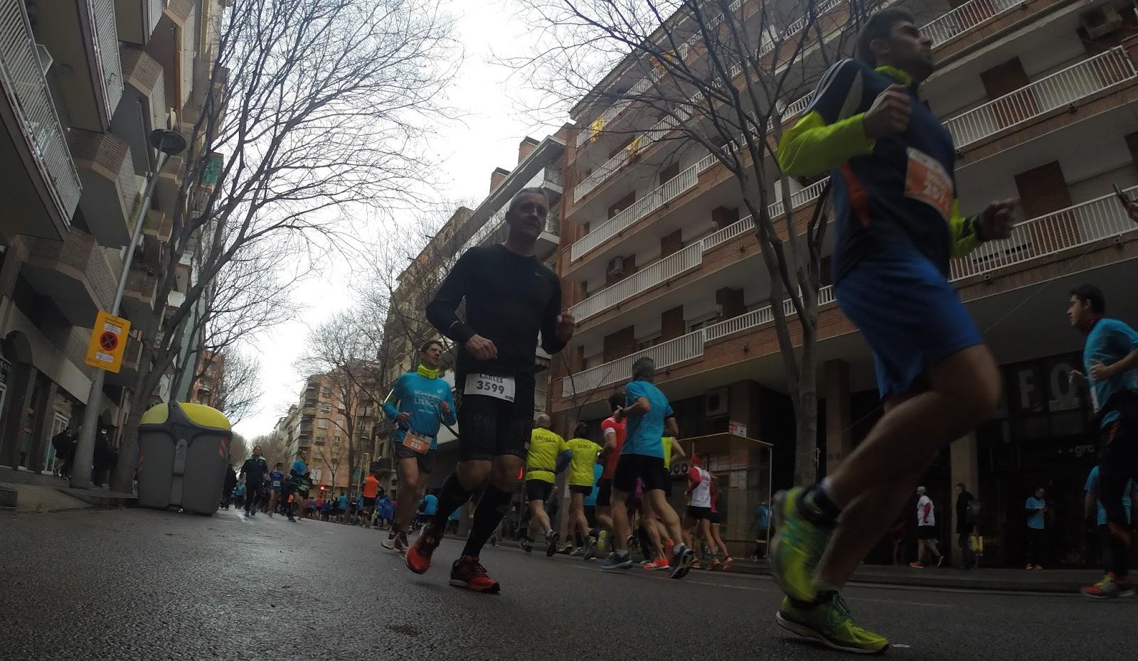 Ibrahim Ezzaydouny y Miriam Ortiz vencen la Cursa de Sant Antoni 2017