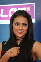 Actress Shraddha Srinath Stills in Black Short Dress at SIIMA Short Film Awards 2017 .COM 0082.JPG