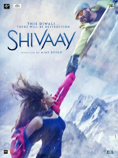 Poster Of Shivaay 2016 480p Hindi CAMRip Full Movie Download