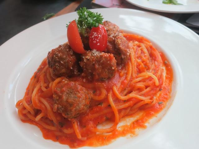 TBK Meatball Pasta