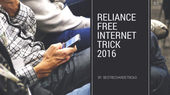 [100% Working] Reliance Free Internet (3G/4G) Trick 2016