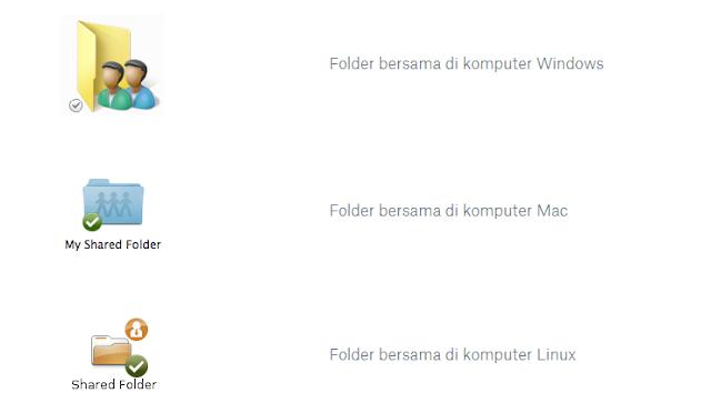 Cara Membuat Folder Bersama di Dropbox
