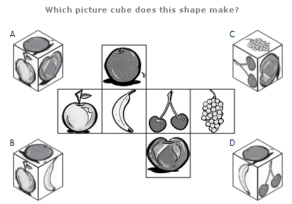 Fold The Cube Puzzle