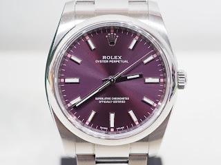 ロレックスの腕時計 114200 パーペチュアルを買い取り致しました