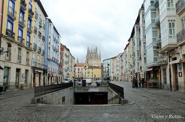 Plaza Huerto del rey, Burgos