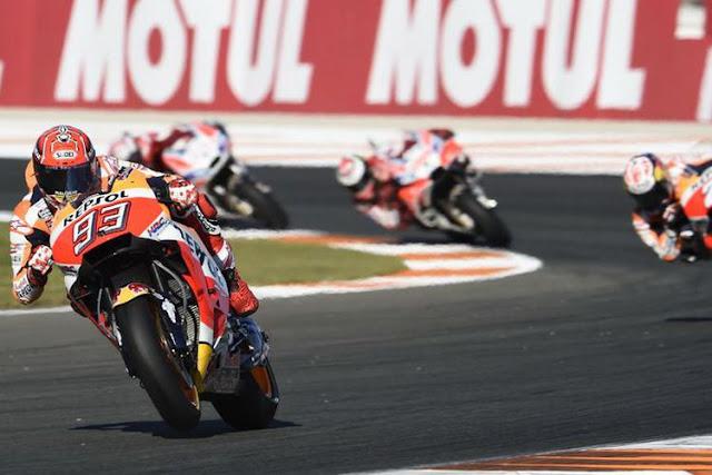 Marc Marquez Masih Setia di Honda