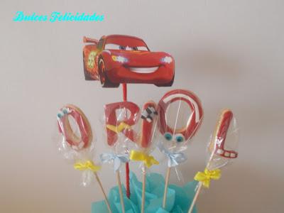 Maceta de galletas Cars