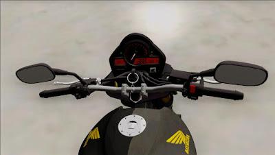 Honda HORNET 2010 ORIGINAL para GTA San Andreas 4