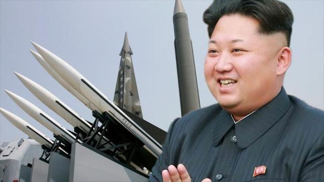 Seúl y Washington repudian prueba misilística de Pyongyang