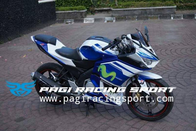 Fairing Vixion Movistar Pagi Racing Sport