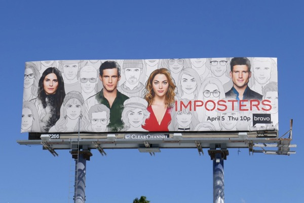 Imposters season 2 billboard