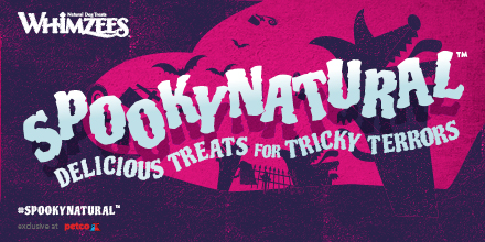 Whimzees #SpookyNatural Delicious Treats for Tricky Terrors