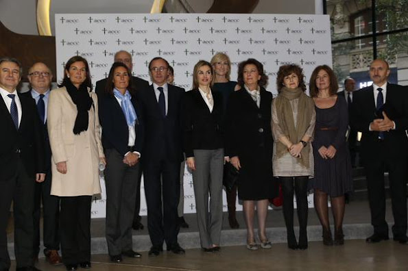 Queen Letizia attends a forum against cancer