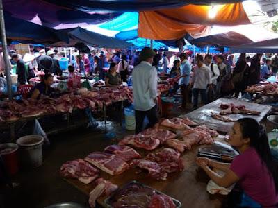 Mercado de Bac Ha, Lao Cai, Vietnam