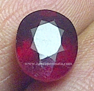 Batu Permata Ruby Pigeon Blood - ZP 353
