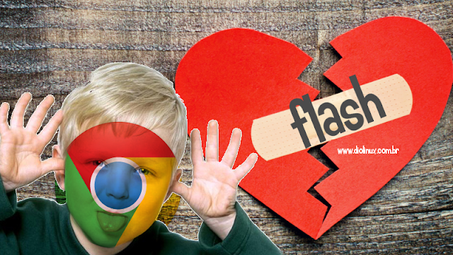 Chrome evitará o uso do Flash