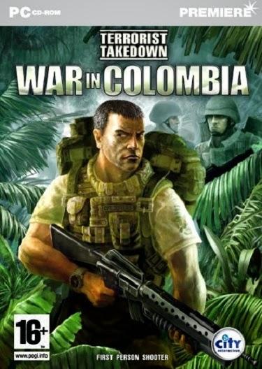 Terrorist Takedown War in Columbia Full