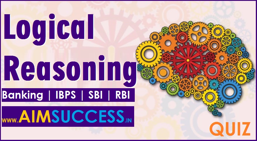 Reasoning Questions for SBI PO 2018: 26 April
