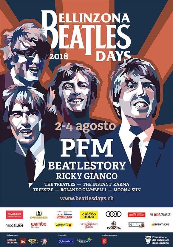 Bellinzona Beatles Days 2018 : parfum magique du rock classique