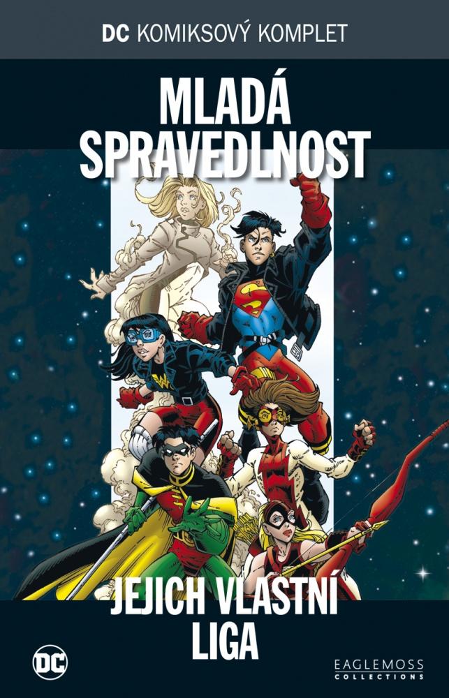 a81b437ba3f DC komiksový komplet 38  Mladá spravedlnost - Jejich vlastní liga (Young  Justice  A League of Their Own)