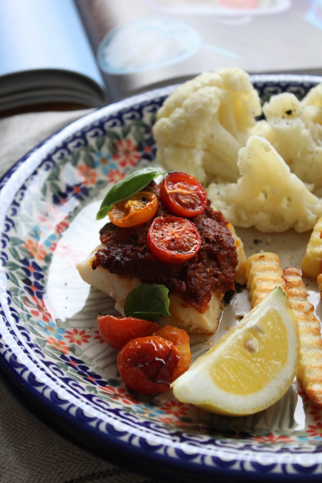 Kuchnia Lidla Dorsz Pieczony W Czerwonym Pesto Creative