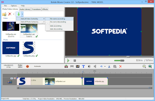 تحميل برنامج تحرير الفيديو للكمبيوتر Bolide Movie Creator